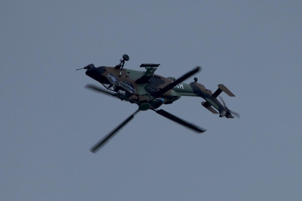 EC-665 Tiger eurocopter paris airshow