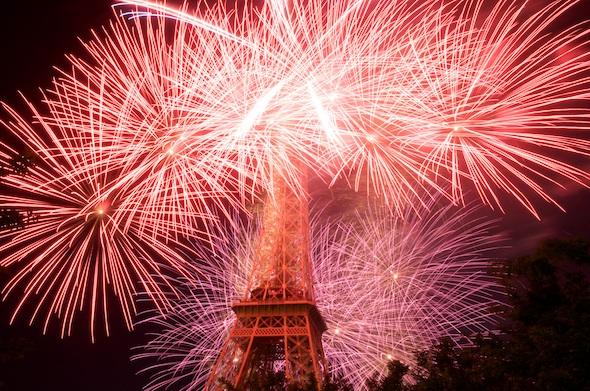 Tour Eiffel 120 ans au 14 juillet