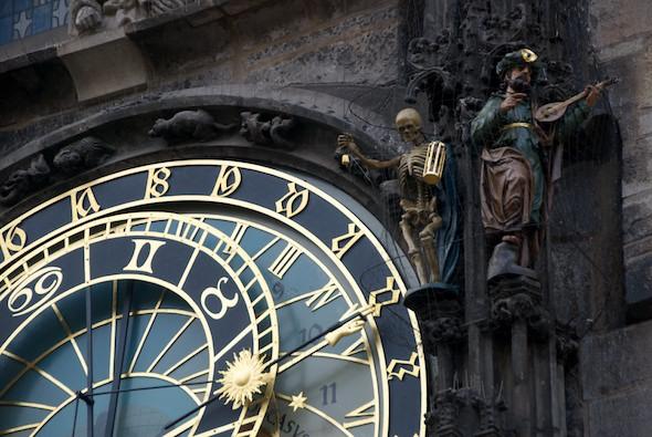 L'horloge de Prague