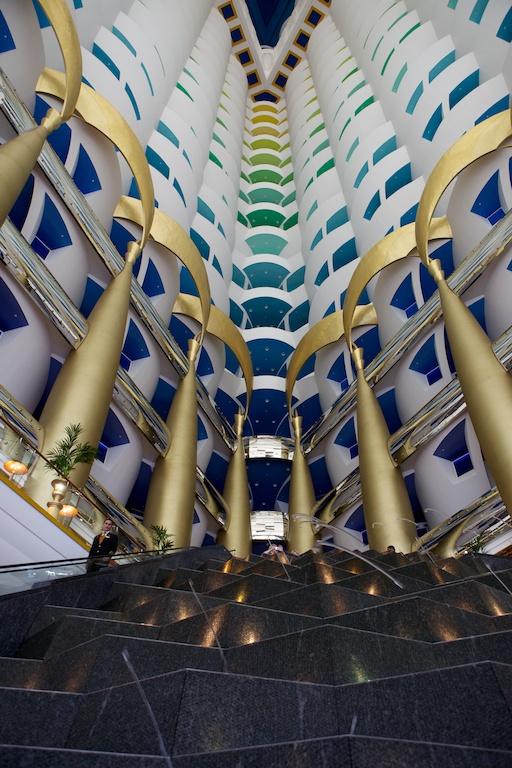 Lobby du Burj Al Arab