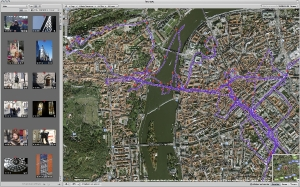 Tracking GPS séjour Prague