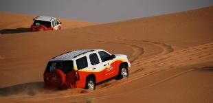 Dubaï en 4×4 dans le désert !
