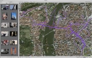 Tracking GPS séjour Prague